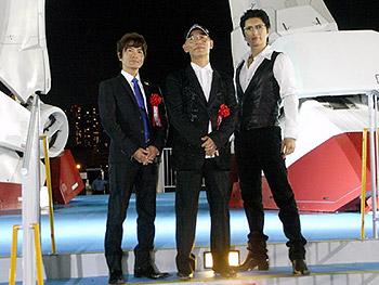 富野監督、古谷さん、GACKTさん